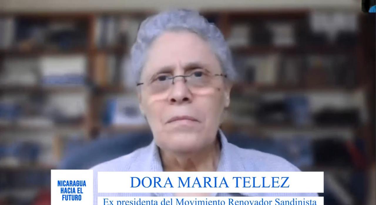 Dora María Téllez: nadie va invertir en Nicaragua mientras este la dictadura Ortega Murillo.